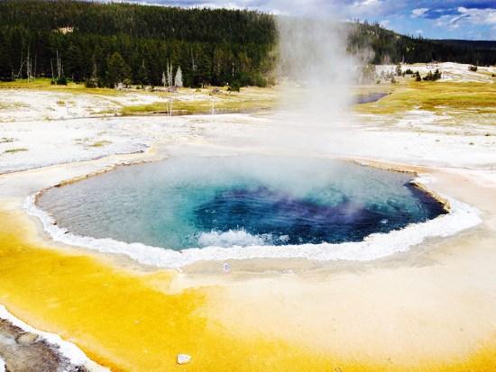 Yellowstone National Park, Geyser Basin