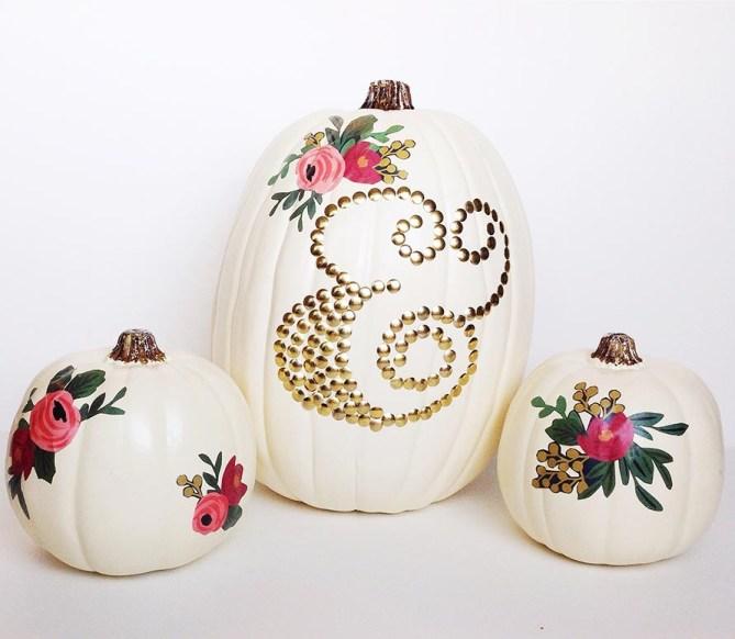 DIY Decoupage Pumpkins: Gold Standard Workshop