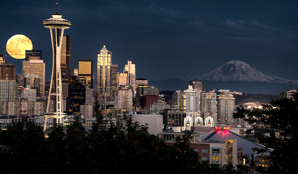 Seattle Washington GoldStar ATM