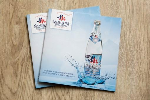 Broschüre Neumarkter Mineralbrunnen