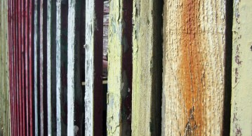Weathered fence, Folkstone, Kent