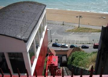 Leas Cliff railway