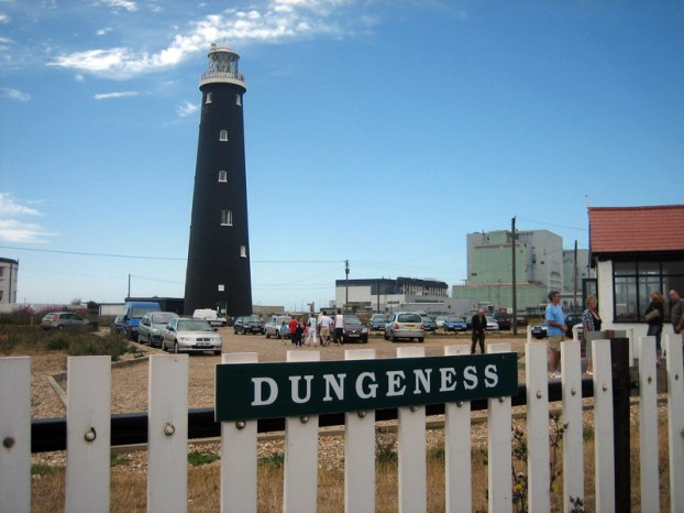 Romney, Hythe and Dymchurch Railway station at Dungeness, Kent