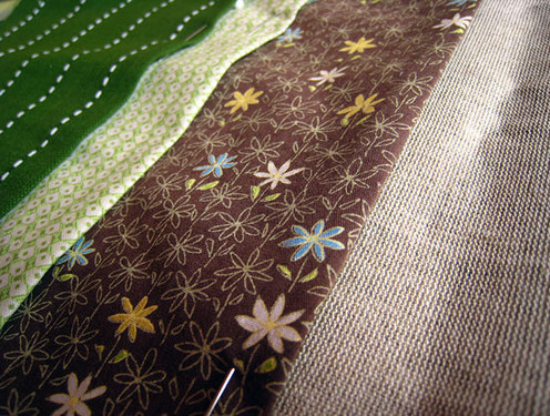 Needle case pieced