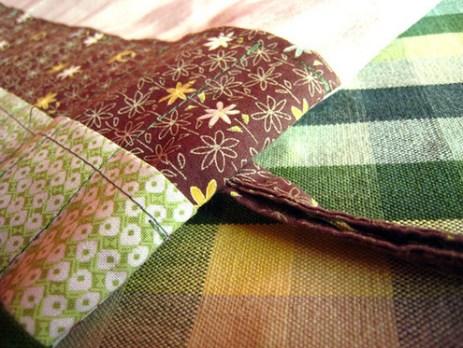 Needle case tie