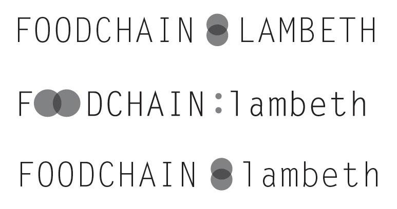 Lambeth food sharing platform for local charities - branding ideas