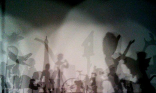 Hans-Peter Feldmann's installation shadows, Serpentine Gallery