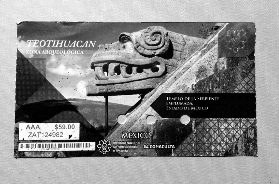 Teotihuacan zona arqueologica ticket