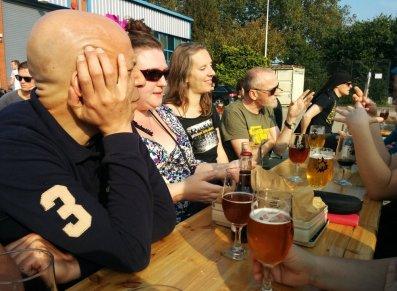 Beavertown Brewery - ale drinkers