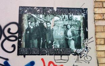 Antifa poster River Lea