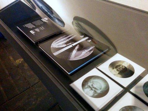 X-ray Audio - book display case