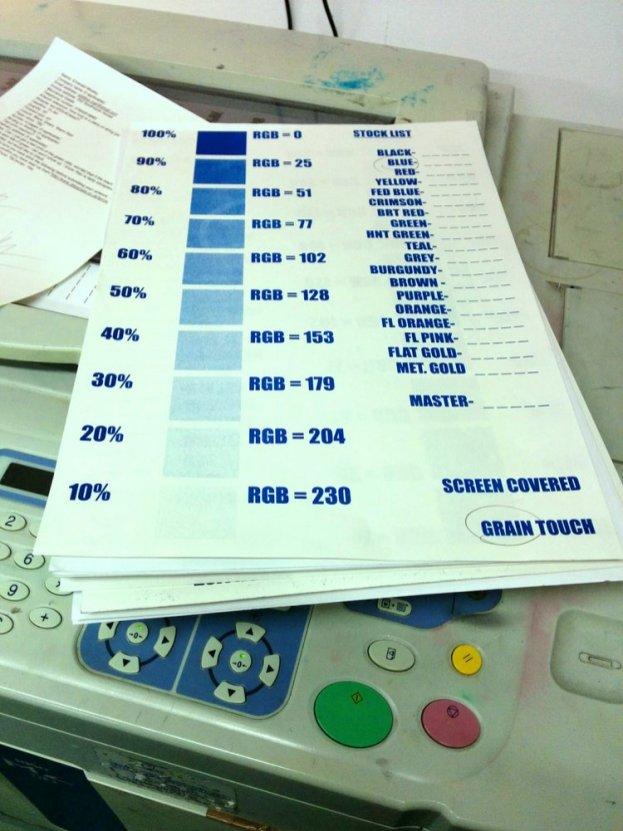 Print sheet