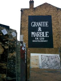 Granite & Marble showroom sign