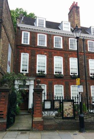 The Fan Museum on Crooms Hill, Greenwich