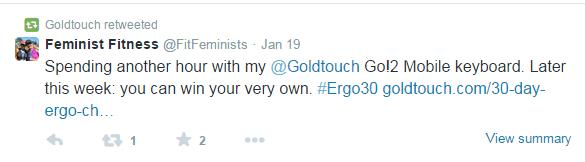 Feminist Fitness Twitter ergo30