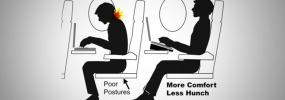 The Easiest Trick for Working Comfortably on an Airplane
