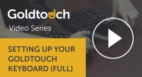 Setting up Goldtouch Keyboard