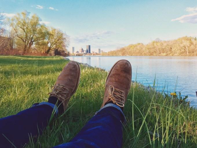summer hours relax on grass