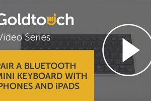 How to pair your Bluetooth Mini Keyboard with iPhones and iPads