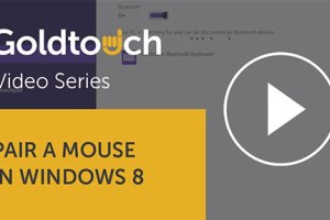 How to pair your Bluetooth mouse in Windows 8