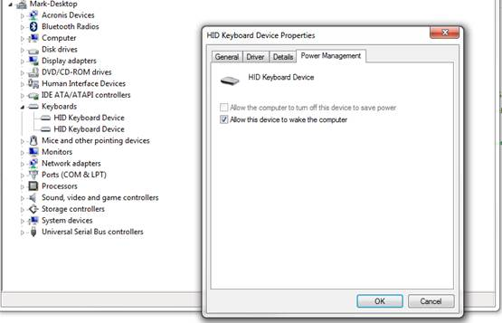 match keyboard settings with Bluetooth