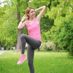 bicycle crunch exercise core strength