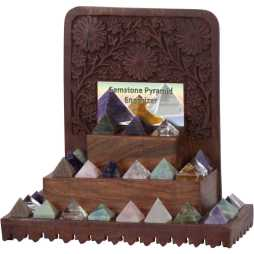 Natural Stone Shaped Pyramids