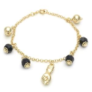 Gold Bracelet symbolizing strength and protection