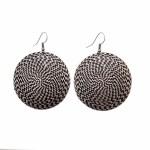 Vintage Drop Silver Plated Earrings - Style 17