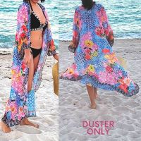 Women Elegant Halter Long Maxi Dresses Free Size - HAWAII Duster 660