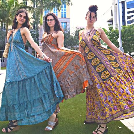 Multi Color 10203 Long Dress