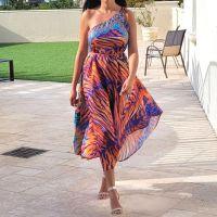 2-Ways to Wear Women Elegant Halter Maxi Dresses/ Duster Free Size - VRSTYL 576