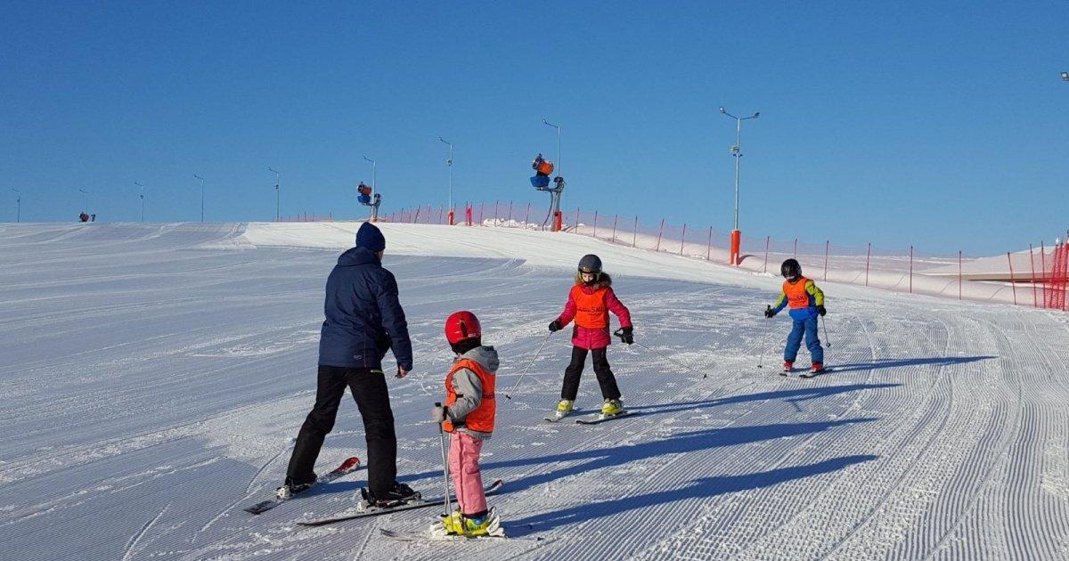 Stok narciarski  Hotel Gobiewski w Mikoajkach