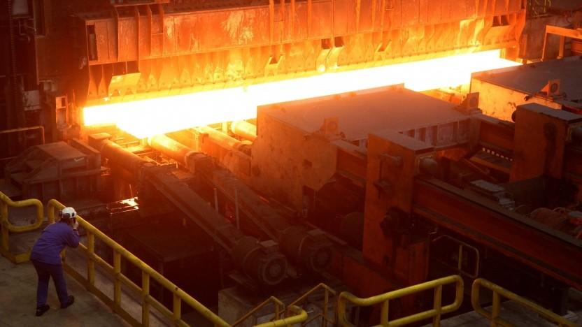 Stahlherstellung mit Wasserstoff geht in den Testbetrieb