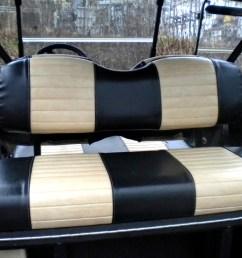 club car precedent rear seat [ 1531 x 1450 Pixel ]