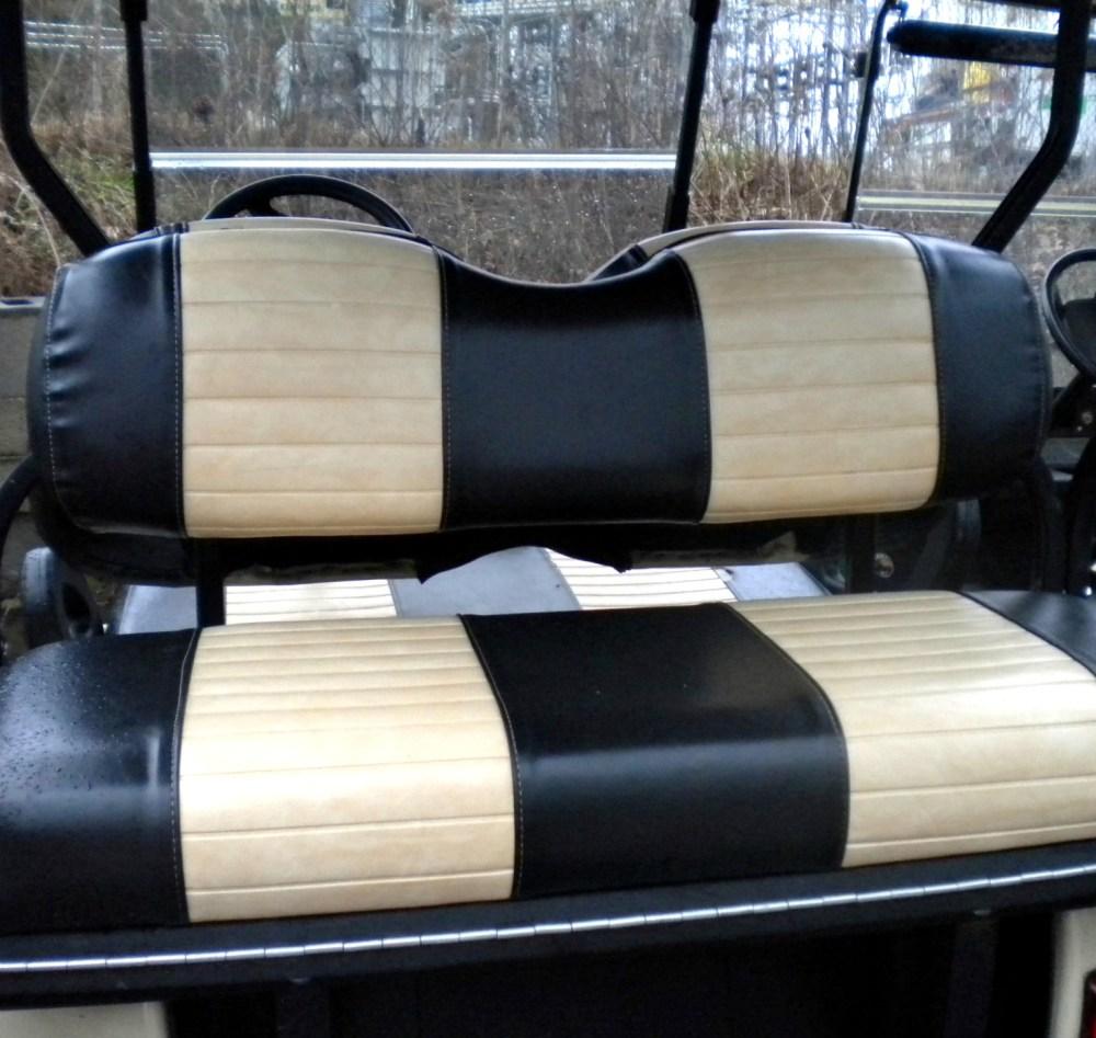 medium resolution of club car precedent rear seat