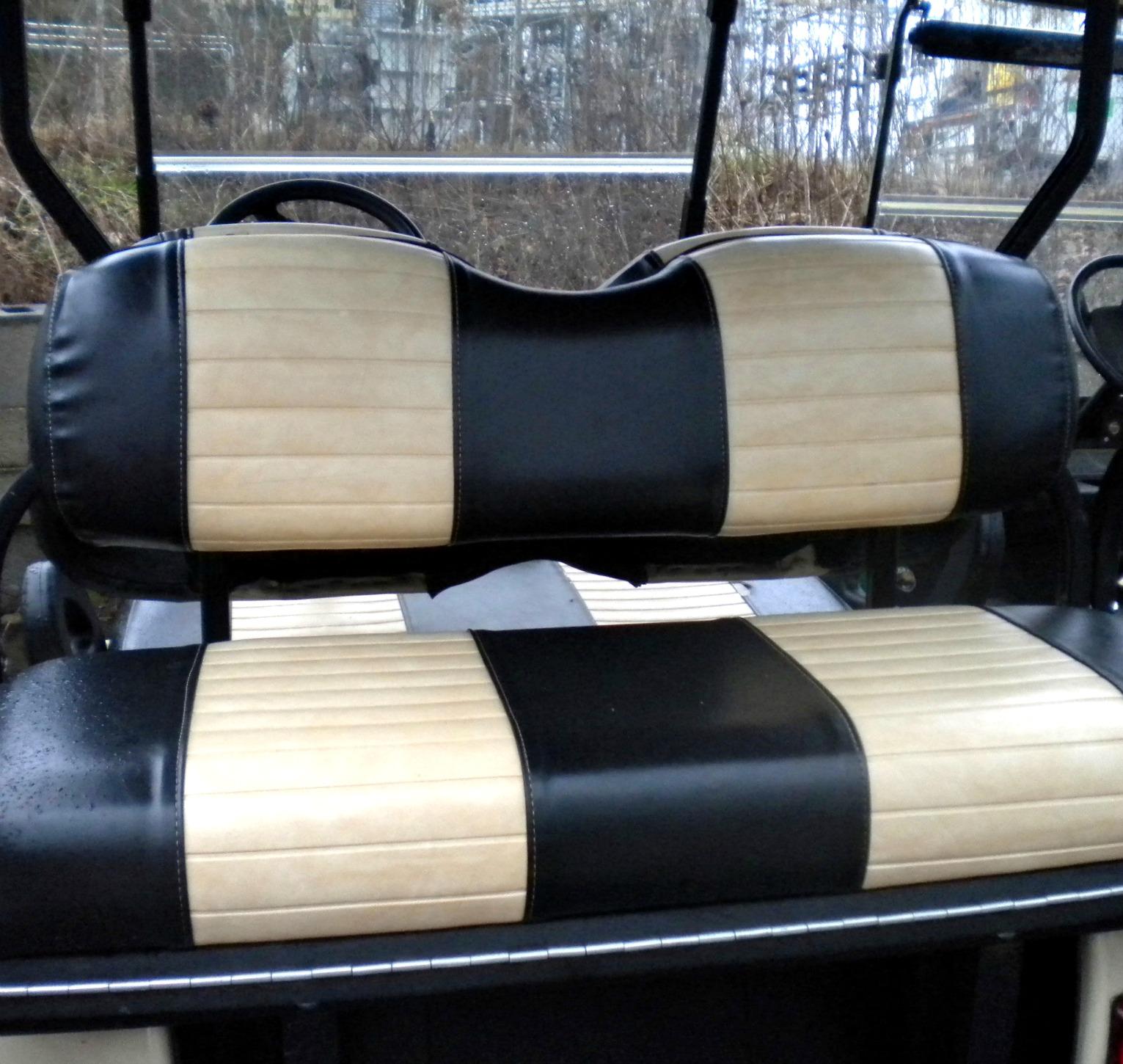 hight resolution of club car precedent rear seat