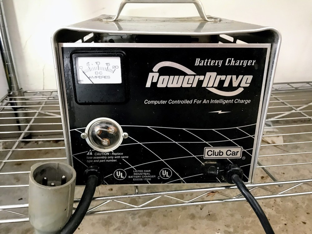 medium resolution of club car battery charger