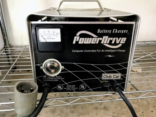 small resolution of club car battery charger