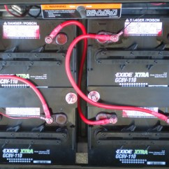 Battery Wiring Diagram For 48 Volt Golf Cart Nordyne Gas Furnace Batteries Makes Maintenanace And More