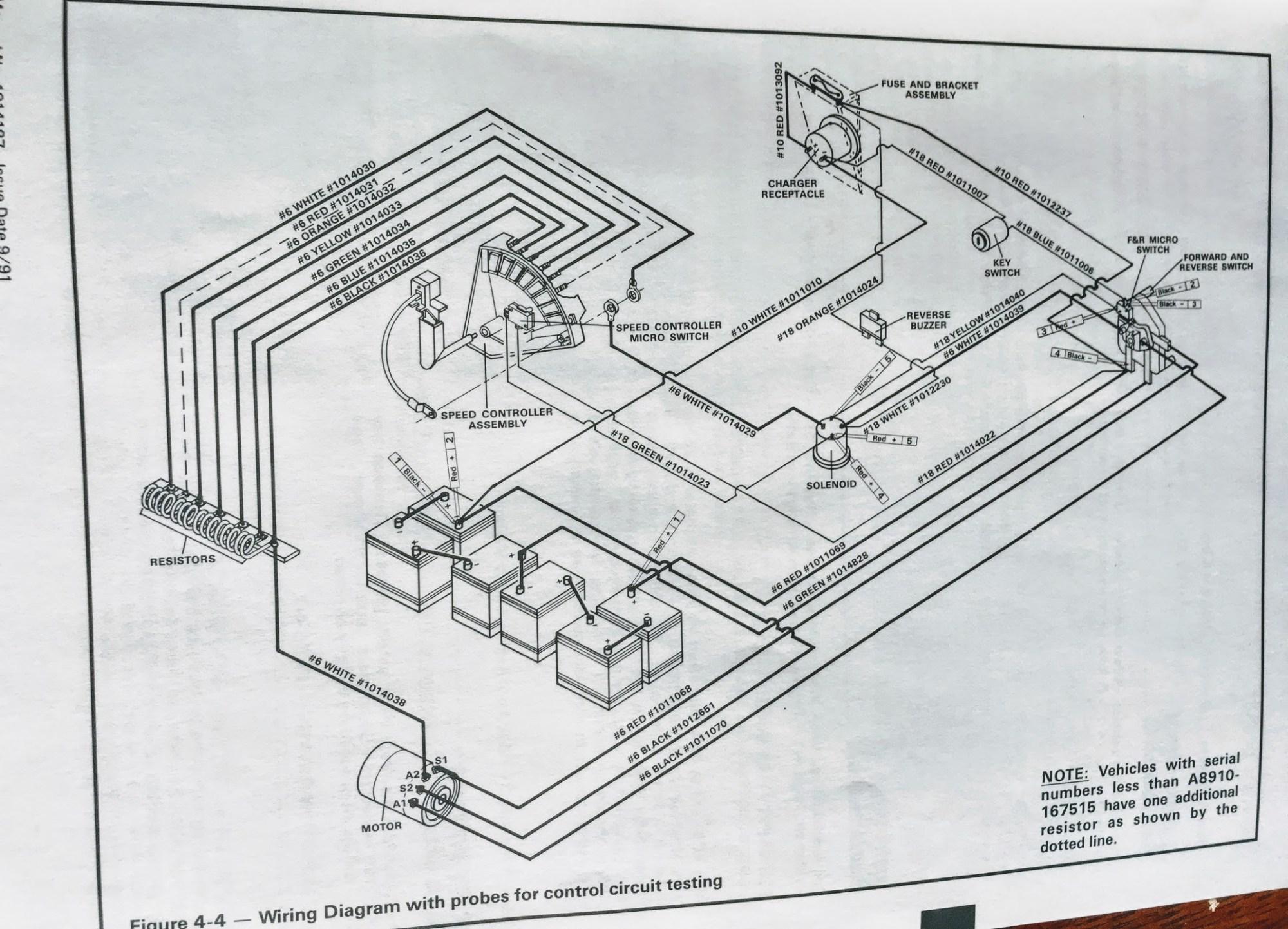 hight resolution of club car wiring diagram