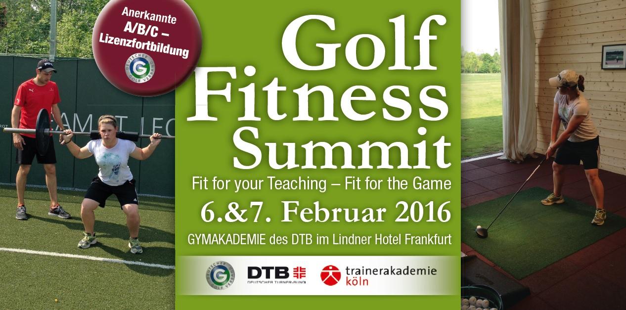 Golf- Fitness- Summit 2016