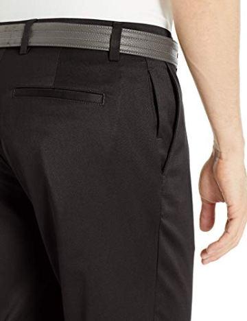 Amazon Essentials Straight-Fit Stretch golf-pants, Black, 30W x 32L - 3