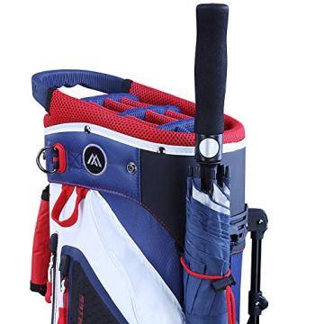 Big Max Dri Lite HYBRID Golf Cartbag & Standbag - Wasserabweisend - 2019 - Black - 2