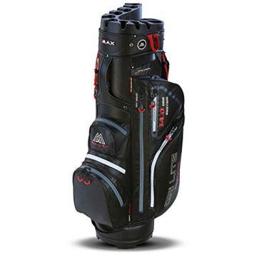 Big Max Dri Lite Silencio Cartbag - Wasserabweisende Golftasche schwarz - 1