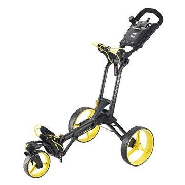 Big Max Z-360 Golf Trolley, Unisex - Erwachsene, Bigmax Z-360, Nero/Giallo - 1