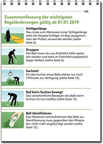 Golfregeln kompakt 2019: Der praktische Regelführer zur Verwendung auf dem Platz - 2