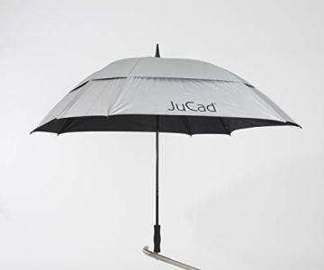 JuCad Golfschirm mit Stift Caddys Silber - 1