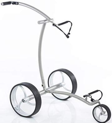 Leisure Golf Elektro Golftrolley Quantum Matt Curve Bergabfahrbremse Timer - 1