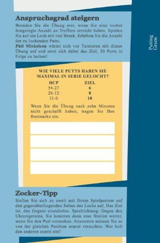 Mein Golf Training: 30 Übungen für ein effektives Training | Booklet mit Drills für das Golf-Bag - 5
